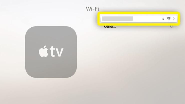 Click the Wi-Fi Network
