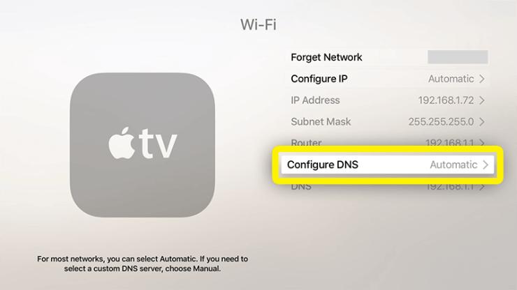 Click Configure DNS