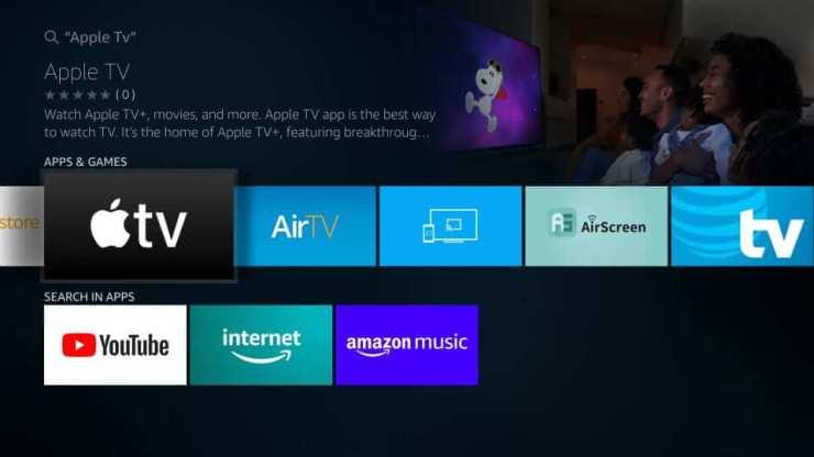 Select Apple TV