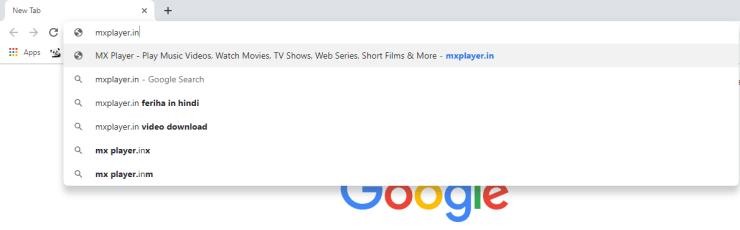 MX Player on Chromecast