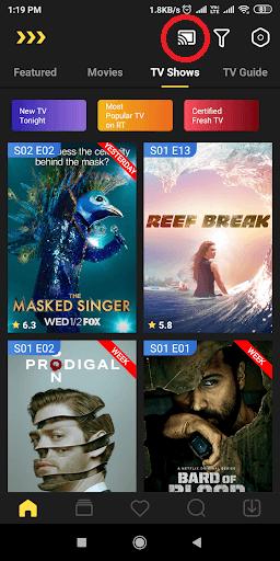 MovieBox on Chromecast