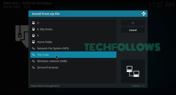 Download The Crew Addon