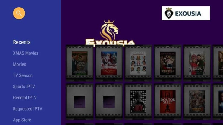 Exousia Apk on Firestick