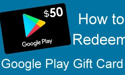 Redeem Google Play Gift Card