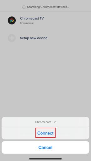 Zwift on Chromecast