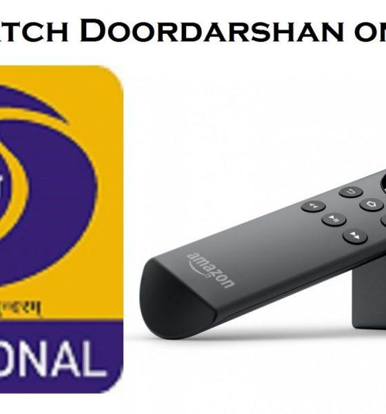 Doordarshan on Firestick
