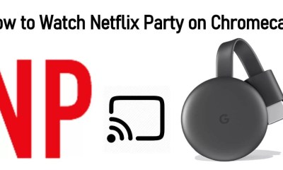 Netflix Party Chromecast