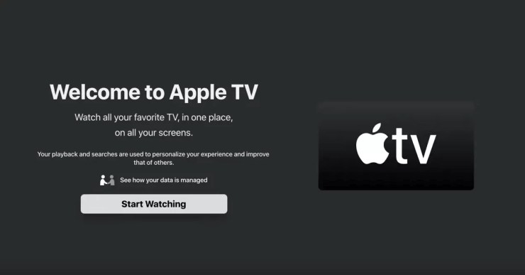 apple tv app on roku