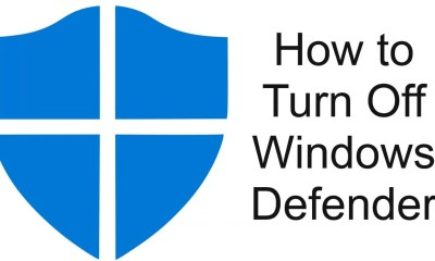 Turn Off Windows Defender