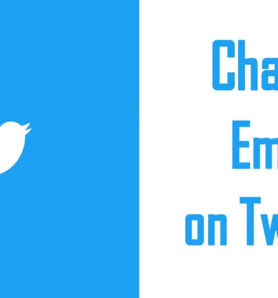 Change Email on Twitter