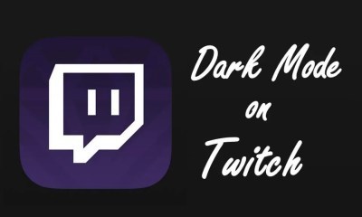 Twitch Dark Mode