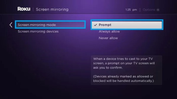Roku Screen Mirroring - Facebook on Roku