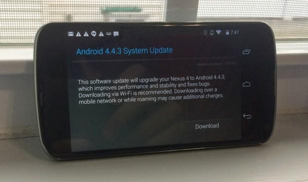 nexus update