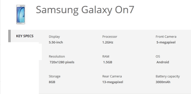 samsung galaxy on7 specs.PNG