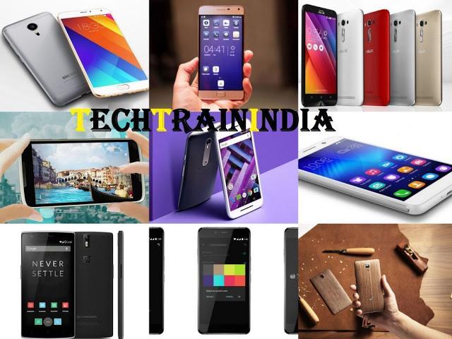 Top 10 Best selling Smartphones under 20000 2015-2016 TechTrainIndia1