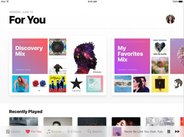 iOS-10-Redesigned-Apple-Music