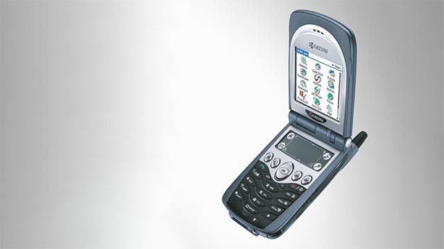 The Kyocera 7135 was recalled in 2004