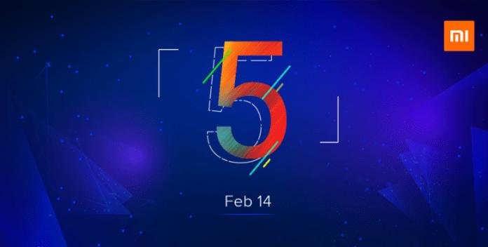 Xiaomi Invitation 14 Feb 2018
