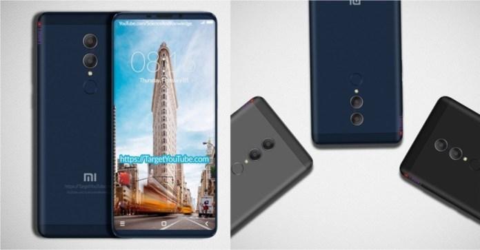 Xiaomi Redmi Note 5 Concept