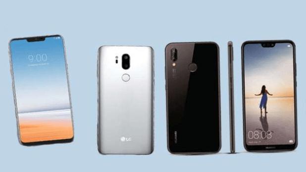 LG G7 and Huawei Nova 3E will have an iPhone X Like Design