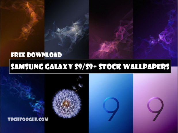 Free Download Samsung Galaxy S9 and S9+ Stock Wallpapers