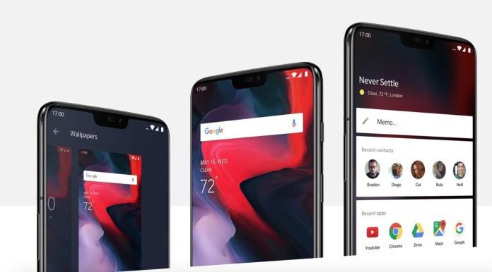 OnePlus 6 UI