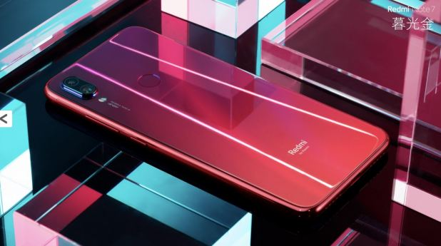 Xiaomi Redmi Note 7 Red Guardian Finish Back
