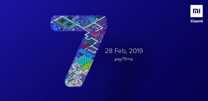 Xiaomi Redmi Note 7 Official Launch Date