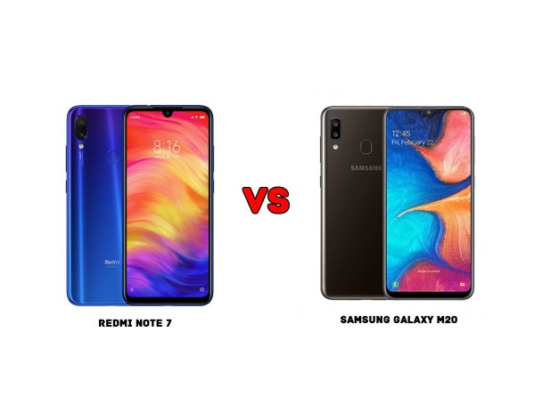 Redmi Note 7 vs Samsung Galaxy A20