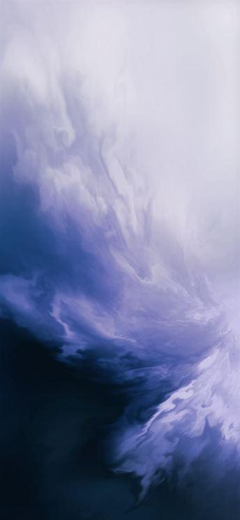 OnePlus 7 Pro_TechFoogle_wallpaper_live_blue