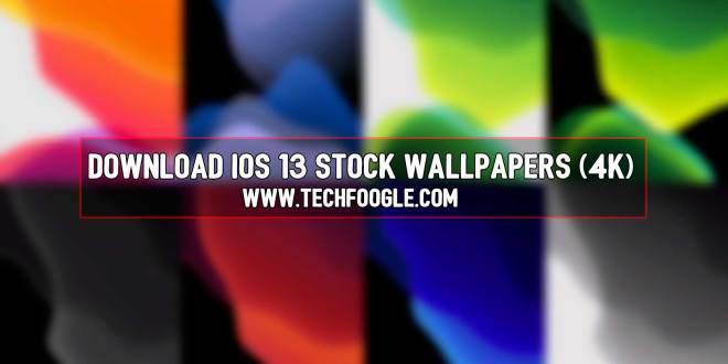 Download iOS 13 Stock Wallpapers (4K)