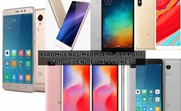 Xiaomi Ends MIUI Beta Support For Seven Redmi Phones