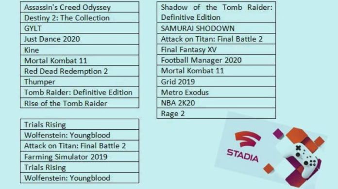 google-stadia-games-list