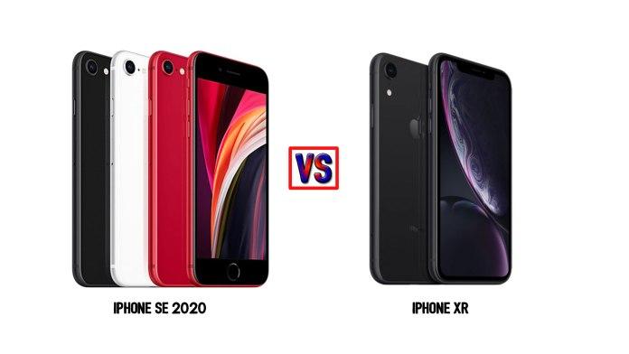iPhone SE 2020 vs iPhone XR