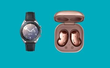 Samsung Galaxy Watch 3 and Galaxy Buds Live
