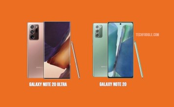 Samsung Galaxy Note20 Ultra and Galaxy Note 20 Official