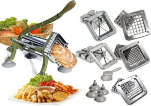 Tiger chef French fry cutter