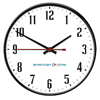 American Time and Signal SQ74BHAA989-WEB Wireless Steel