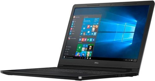 The Dell Inspiron I3552-4041BLK Laptop PC featuring a fast Intel Celeron processor and long battery life. You'll be amazed at the sound clarity provided by GRAMMY Award-winning Waves Maxx Audio technology. Whether you are chatting with a friend or watching a movie, the sound will astound. It keeps the conversation going thanks to built-in wireless that gives you a fast, strong connection with impressive range. Save all your pictures, home movies, important documents and that funny cat video you've watched a million times on a large, 500 GB hard drive. With 4 GB of memory, you can open and run multiple applications without pause. The Inspiron 15 3000 Series has a slim 22 millimeter edge, so you can slip it in your laptop bag or travel bag without losing precious space.
