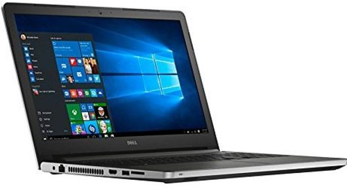 The Dell Inspiron 15 I5559-4013SLV Laptop PC is designed with the Intel Core i7-6500U 2.5 GHz Dual-Core Processor matched with 12 GB of memory to supply you the best in speed to run your favorite entertainment, your most demanding applications, and this will certainly get the job done. The 1 TB Hard Drive provides optimum storage space for all of your important documents, photos, music, videos, applications, and more. Enjoy your favorite entertainment and applications on the 15.6-inch Display utilizing its LED Backlighting technology to produce a bright and vibrant image. Enjoy the brand new layout of Windows 10 Home 64-bit Edition operating system.