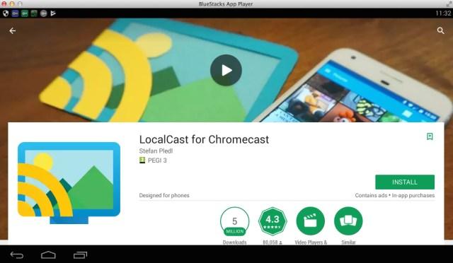 localcast-for-pc-using-bluestacks
