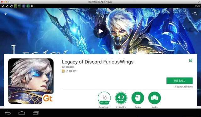 Play Legacy of Discord - FuriousWings on PC (Windows/Mac