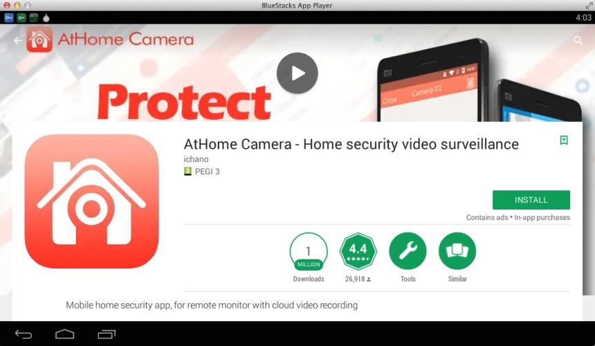 Install AtHome Camera for PC (Windows 7, 8, 10, Mac