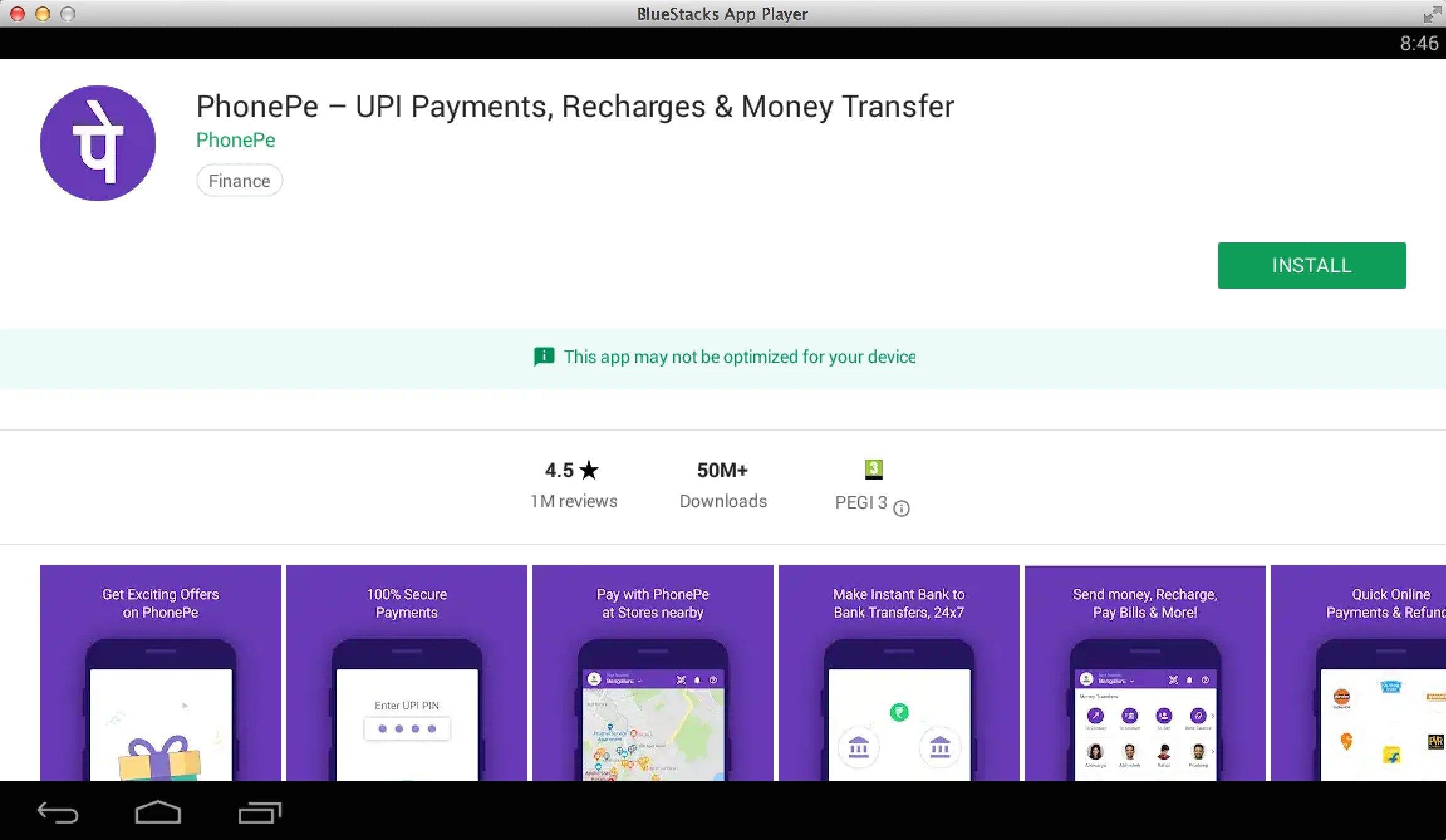 Phonepe app download for windows phone