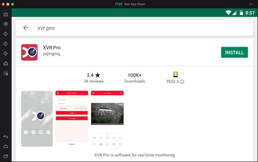 download-xvr-pro-app-pc-via-nox-app-player