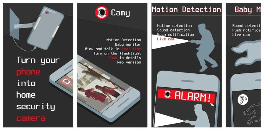 camy-app-features-screenshots