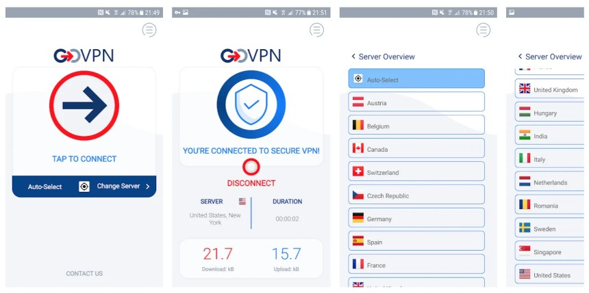 govpn-app-features-review