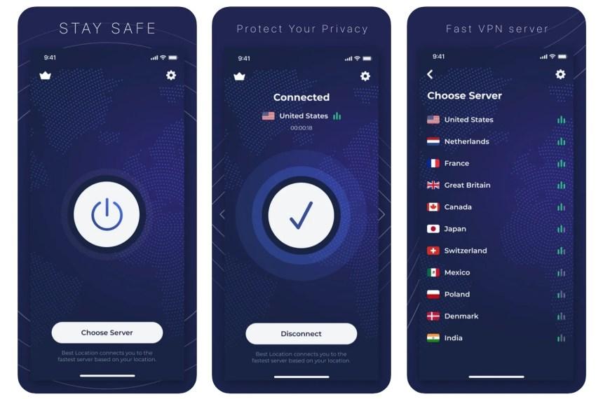 safeguard-vpn-app-screenshots
