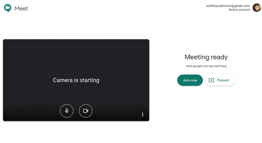 starting-google-meet-video-conference