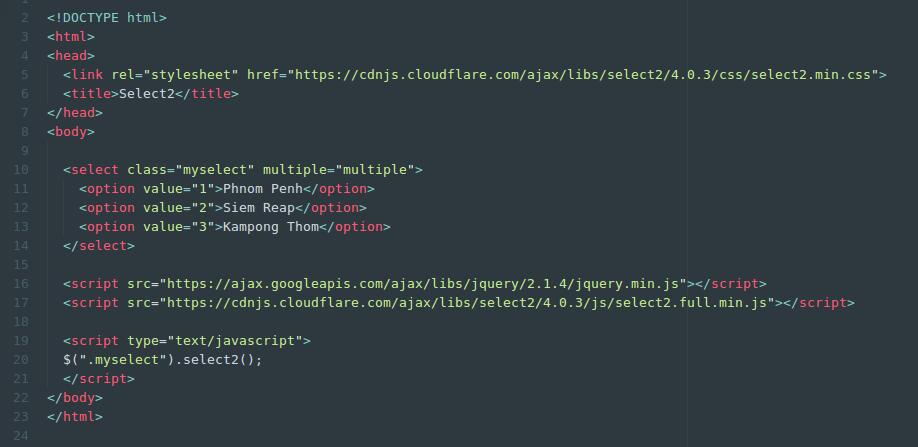 select2code